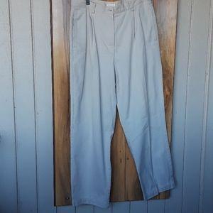 Liz Sport Khaki Trousers
